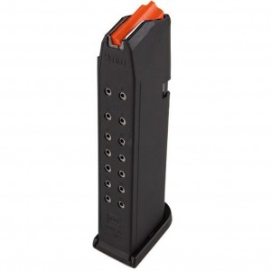MAGAZYNEK DO GLOCKA 17 9MM X 19 PARA NB ORANGE