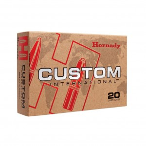 AMUNICJA HORNADY 8X57 JS CUSTOM INTERNATIONAL 195GR/12,6G (20SZT) #82291
