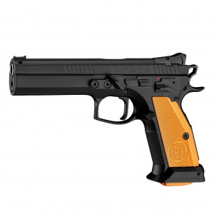 PISTOLET CZ 75 TS (TACTICAL SPORTS) ORANGE (KAL.9X19) (0474-0709-SKFNABX)