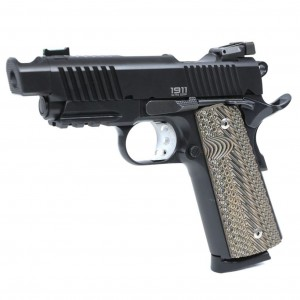 PISTOLET BUL 1911 CLASSIC ULTRA TACTICAL STREETCOMP BLACK 9 PARA