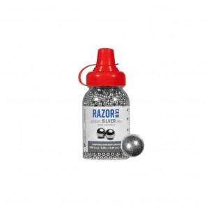 ŚRUT BB RAZORGUN SILVER 4,46 MM 1500 SZT