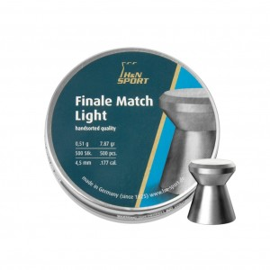 ŚRUT DIABOLO H&N FINALE MATCH LIGHT 4,50 (500SZT)